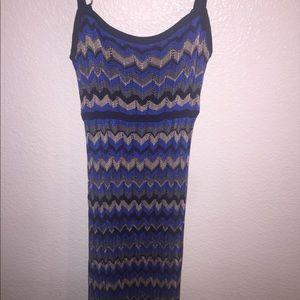 XS Bebe maxi dress
